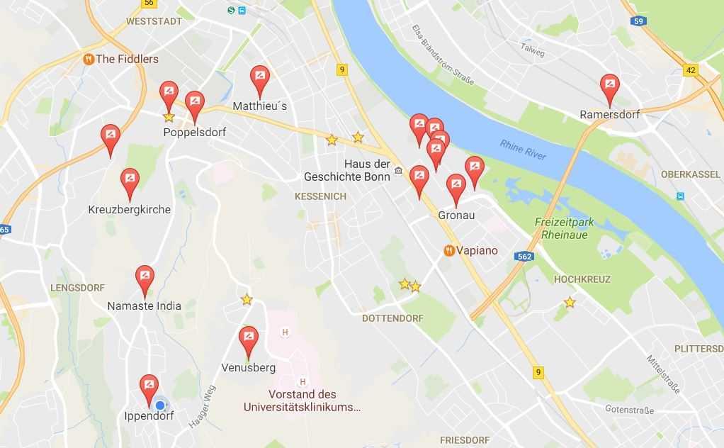 HiBlue images on Google Maps.