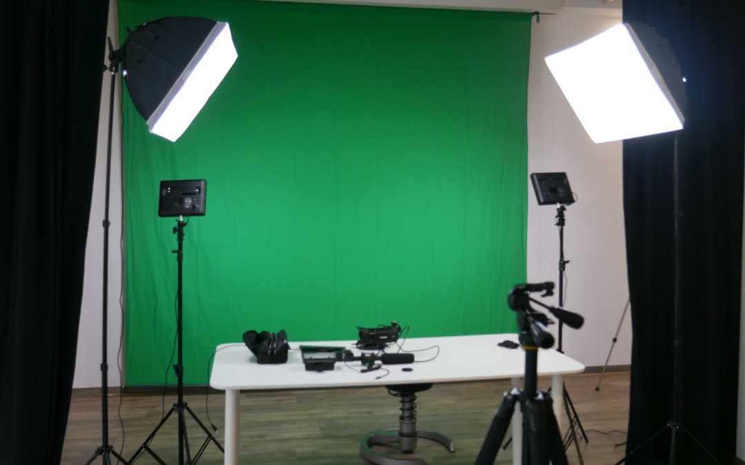 Greenscreen studio in Bonn now available.