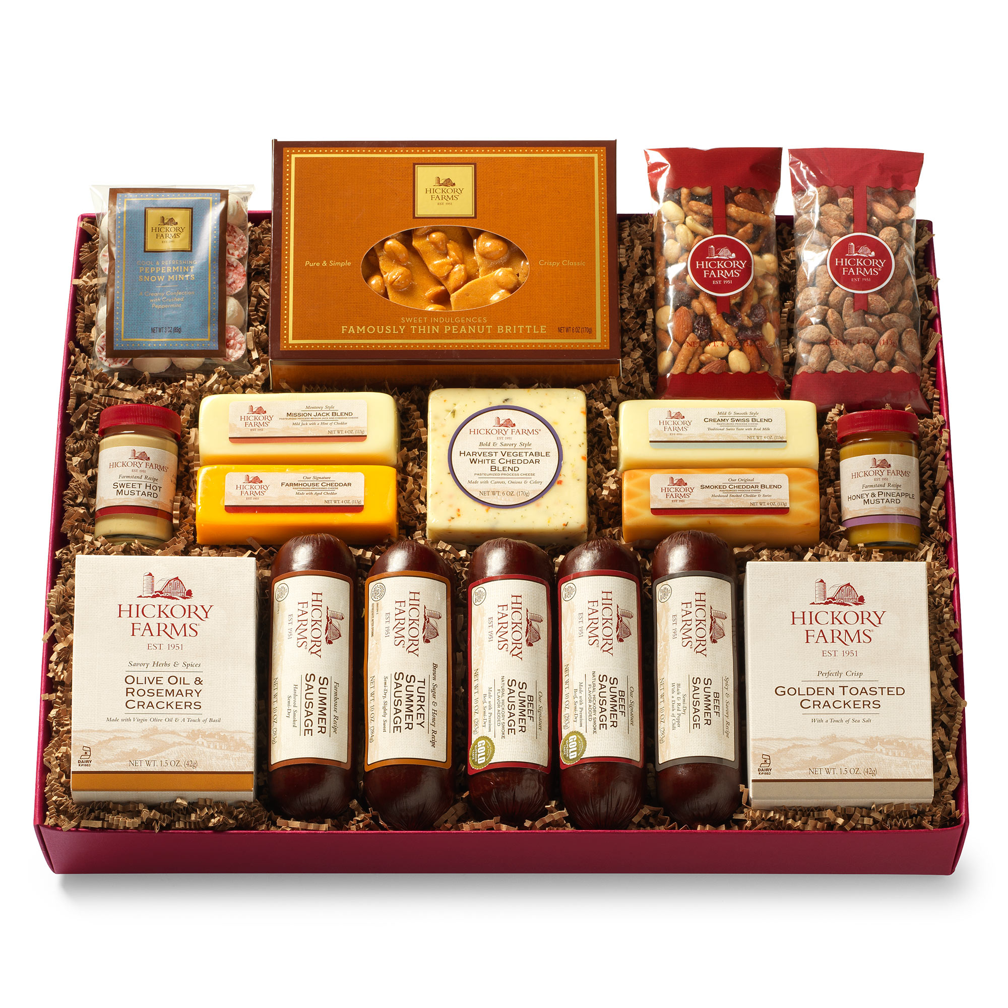 All Day Celebration Gift Box Gift Hickory Farms