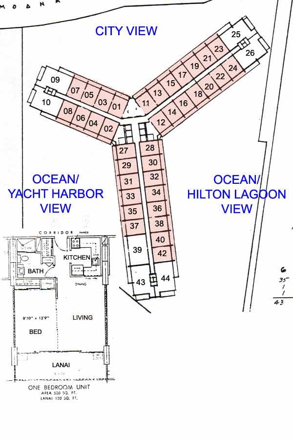 Ilikai Apartments Honolulu Hawaii Condo By