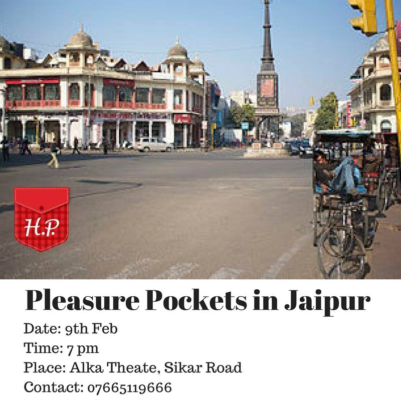 #pleasurepockets walk  in Jaipur