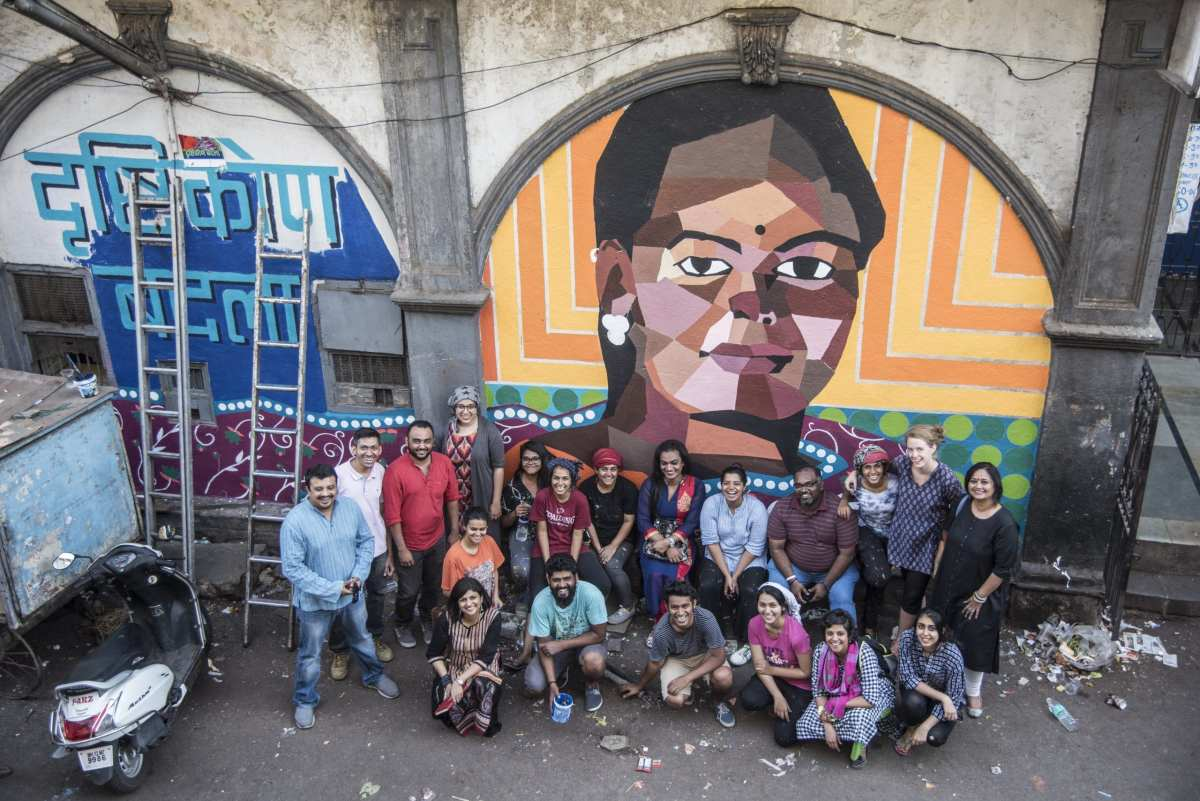 Aravani Art Project: To the home of transgender women in Budhwar Peth, Pune