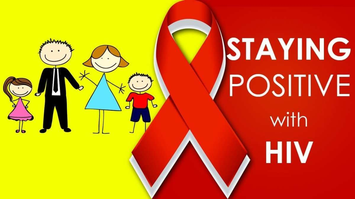 """Life with HIV: Have the COURAGE to """"live"""". Anyone can die"""