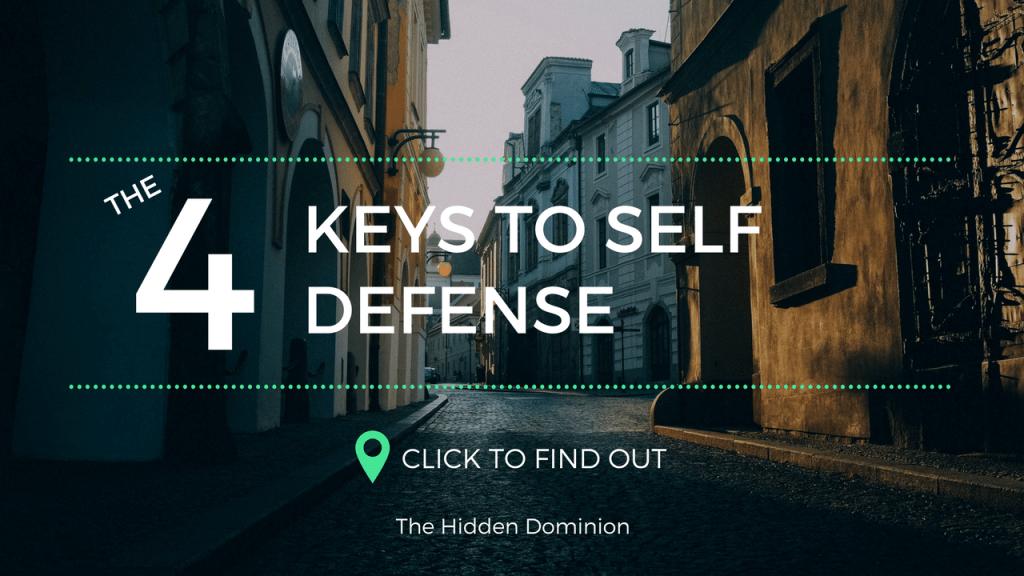 The 4 Keys to Self Defense