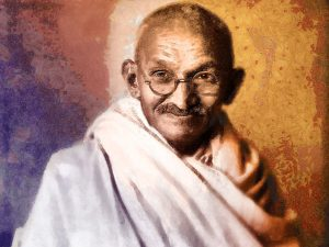 Gandhi on Firearms and Gun Control