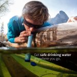 Lifestraw easy water purification