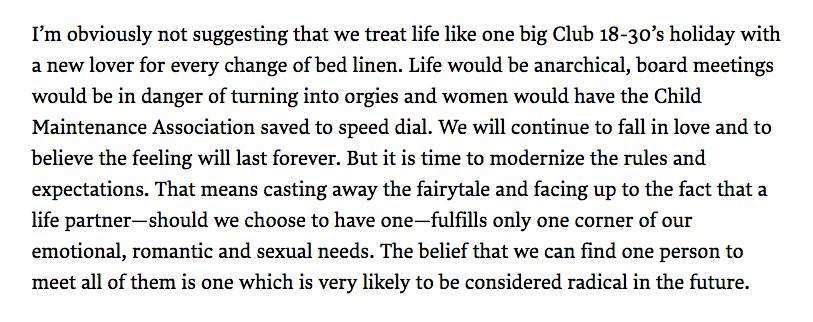 war on monogamy
