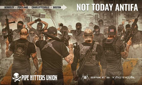 anti antifa ad spikes tactical
