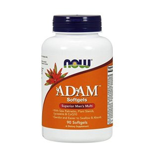 NOW adam men multivitamin supplement