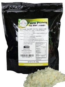 Paleo egg white protein powder bodybuilding supplement