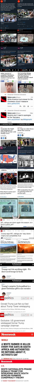 hypocrisy of the mainstream media