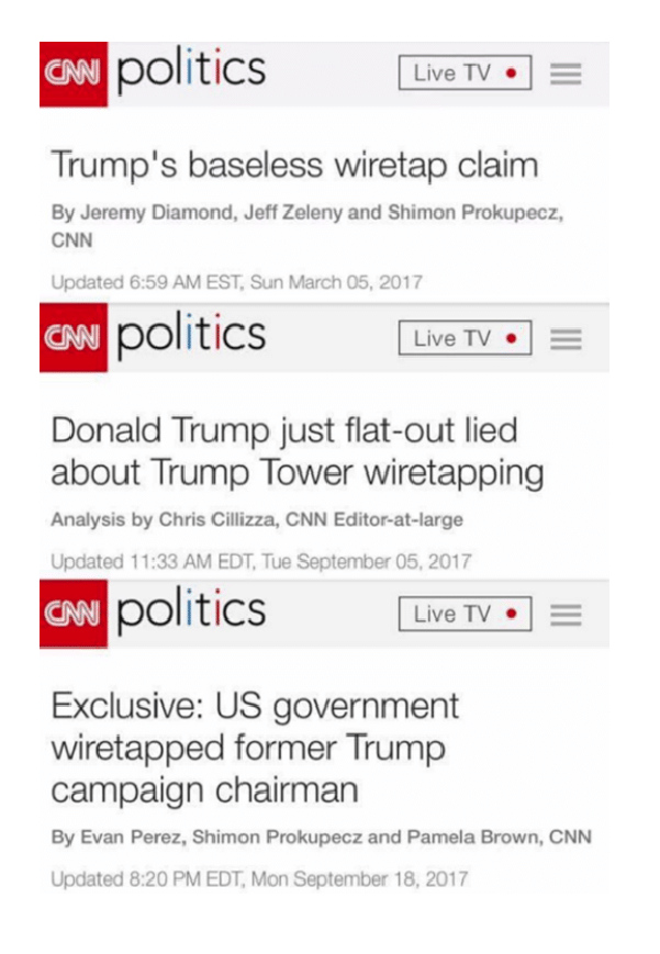 The Normal Progression Of Media Cover Up