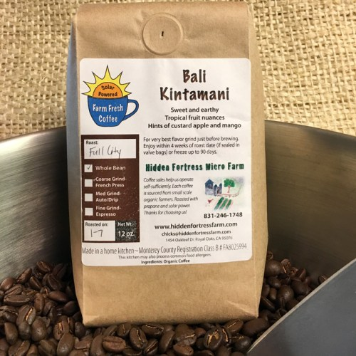 Organic Bali Kintamani Coffee