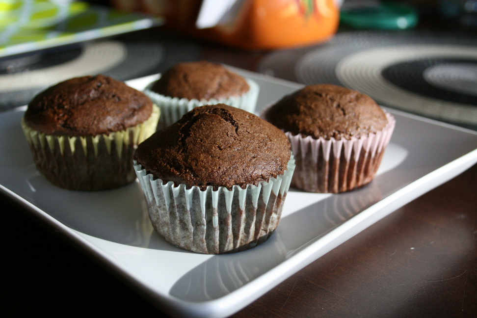 Low Fat Chocolate Cupcakes
