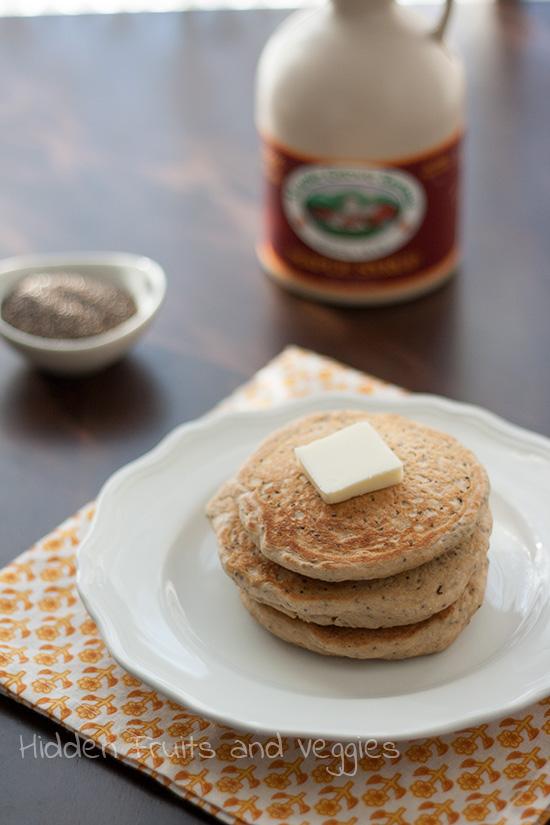 Chia Seed Pancakes