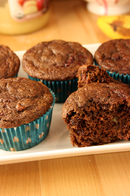 choco-raspberry-muffin-open