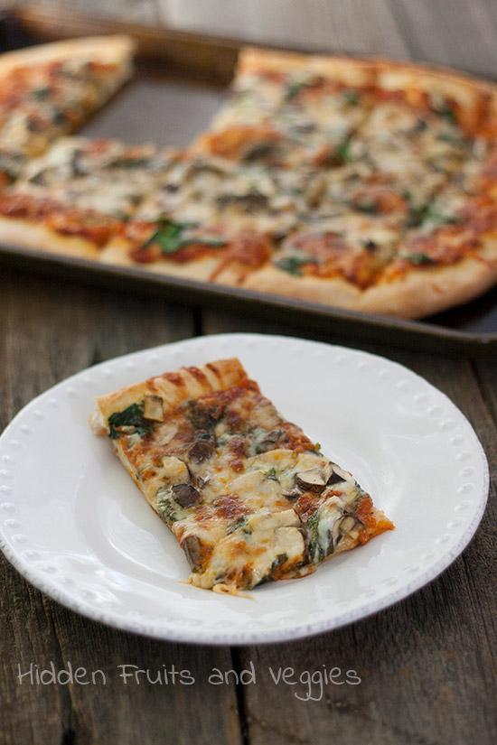 Truffled Mushroom Pizza