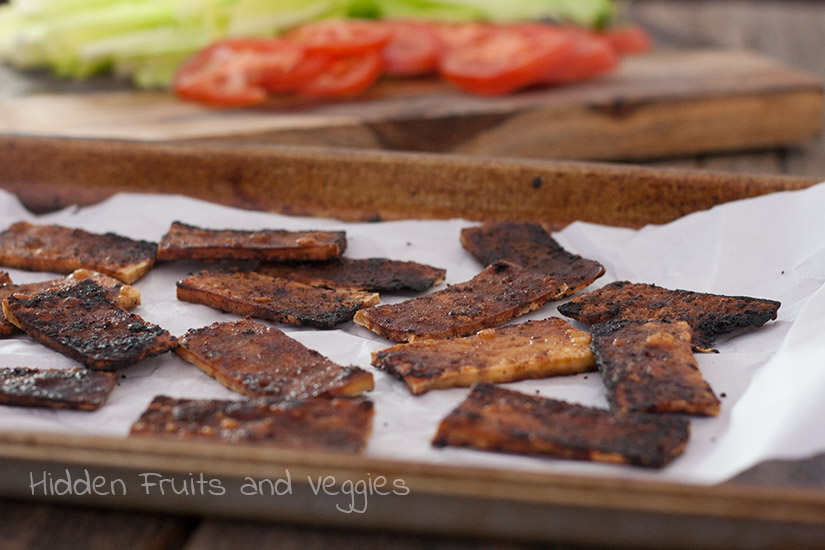 Tofu Bacon @hiddenfruitnveg