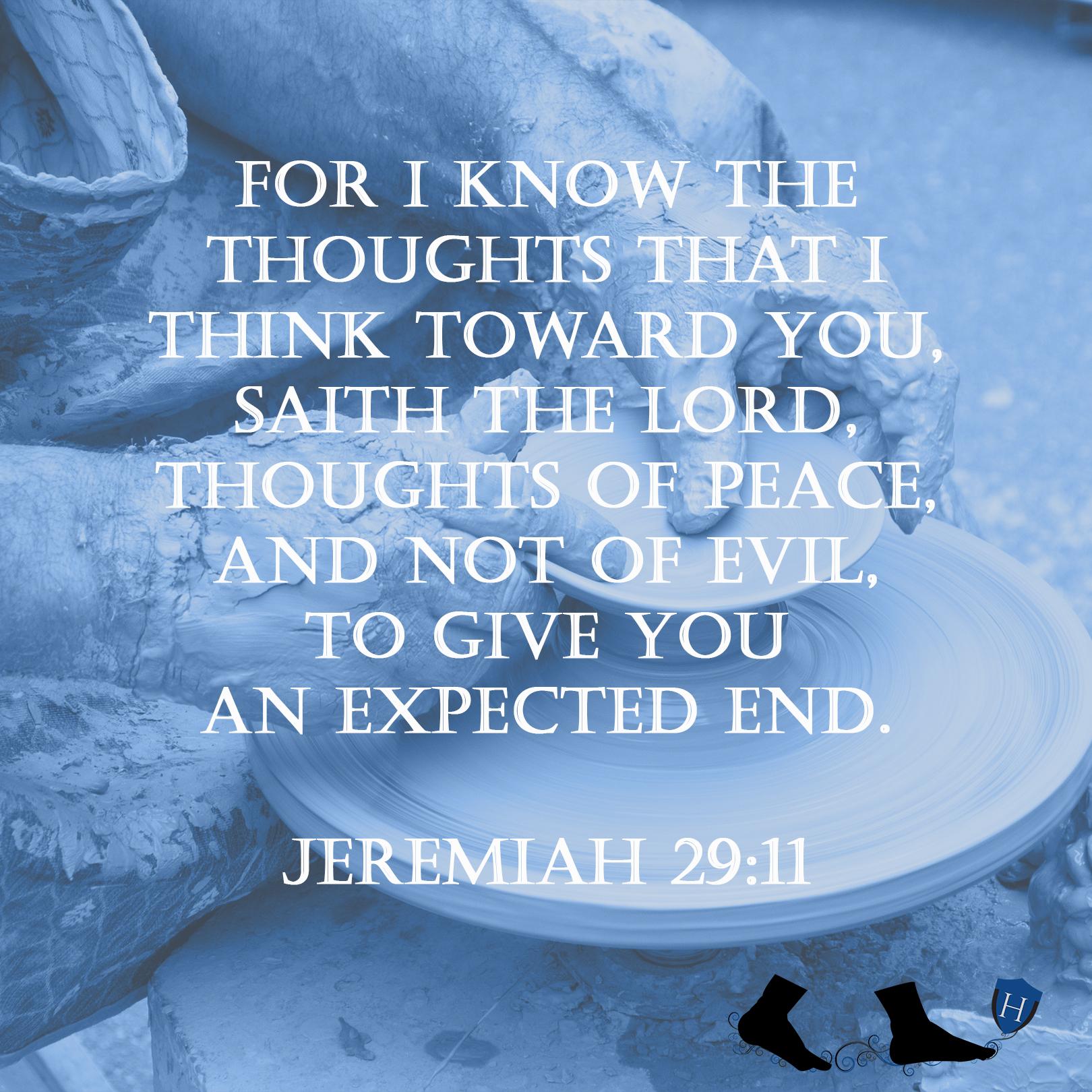 Jeremaih 29:11
