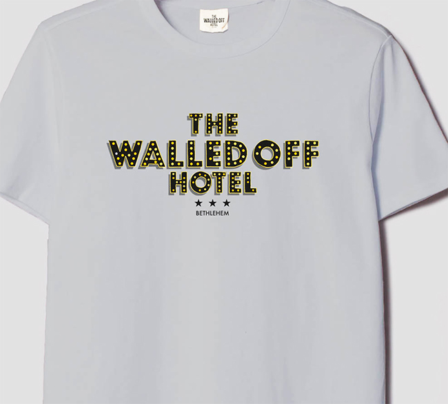 Walled off hotel t-shirt