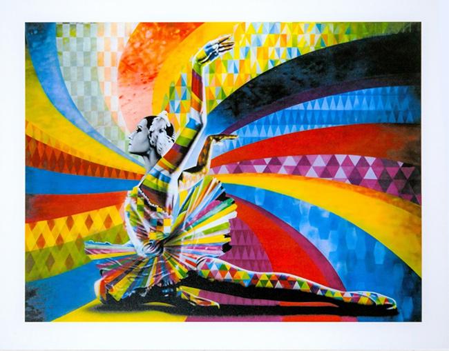 """Bailarina"" print by Kobra"