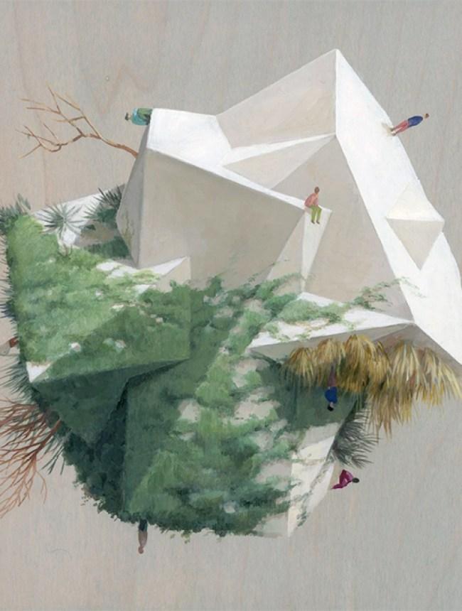 White Landscape 4