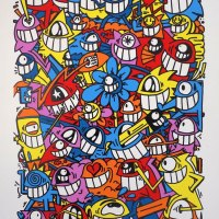 """Happy crew"" new print by El Pez Barcelona"