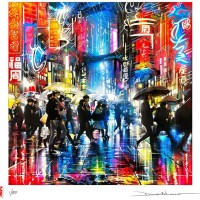 'Electric-City' new print by Dan Kitchener