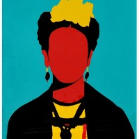 """Frida"" print by Coco Dávez"