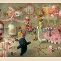 """The magic circus"" new print by Mark Ryden"