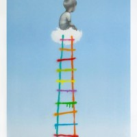 """The ladder"" new print by Seth"