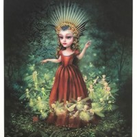 """""""Queen Mab"""" print by Mab Graves"""