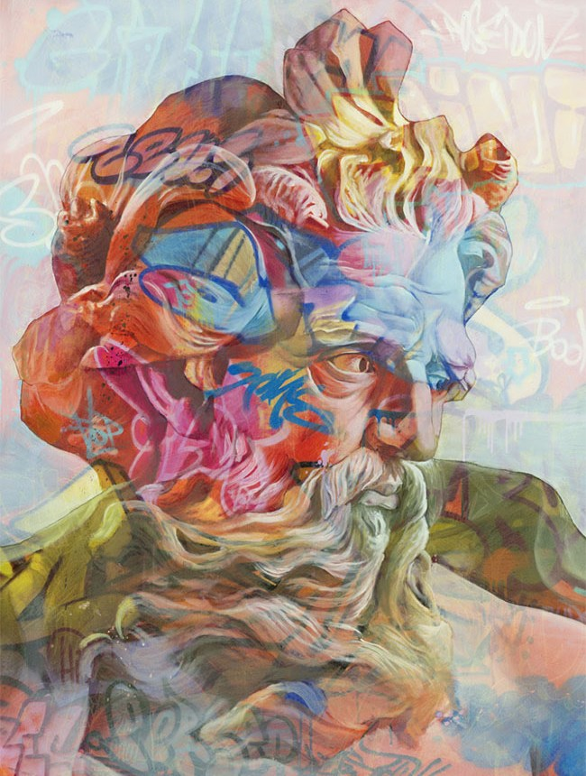 Lefkos print by PichiAvo