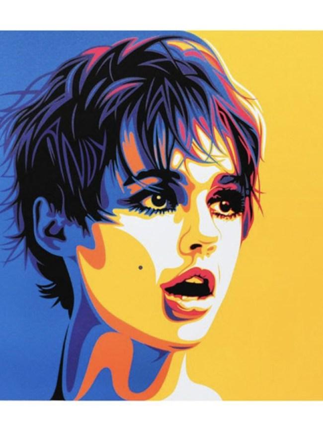 Andy's Girl' print by Rourke Van Dal