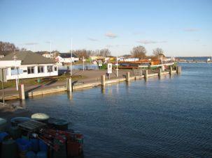 Wasserstand im Vitter Hafen