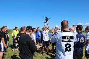 Der Wanderpokal geht, wie 2012, wieder nach Stralsund.