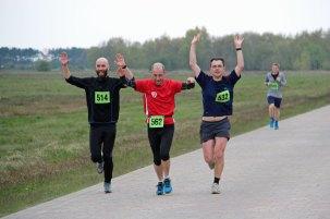 Läufer beim 20. Hiddenseelauf 2016.