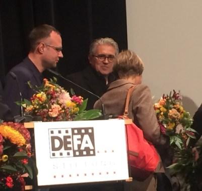 Preisverleihung der DEFA-Stiftung an die Homunkuus Figurensammlung