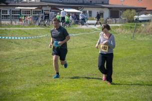 Läufer beim 22. Hiddenseelauf 2018