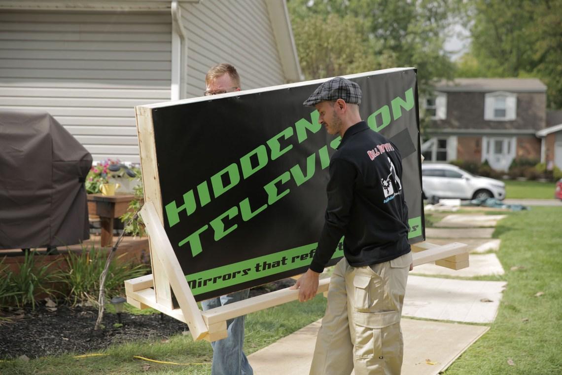Hidden Television White Glove Delivery