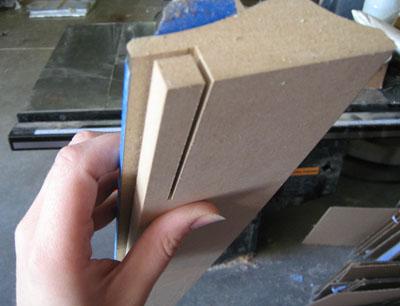 Inner Bezel Frame Cut