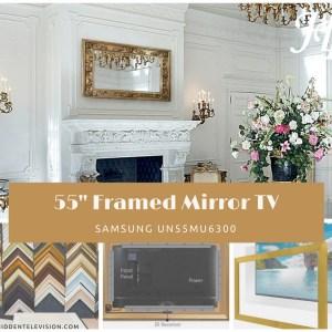 """55"""" Framed Mirror TV"""