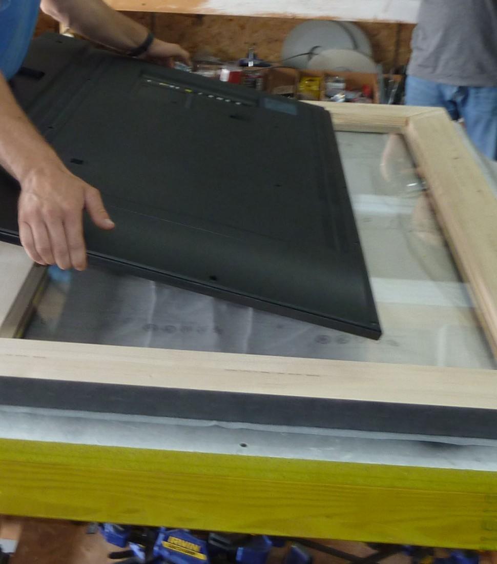 Framed TV Mirror Kit