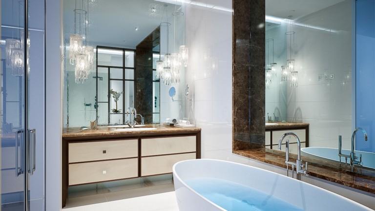 Vanity Mirror TV Spa