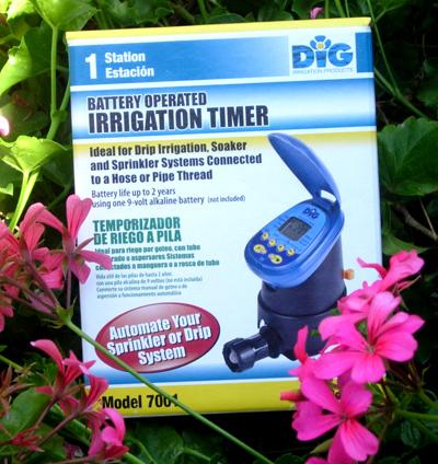 Drip Irrigation Timer