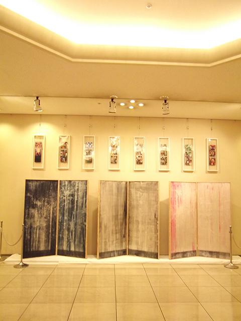 Exhibition photos -Colors Up Close, Gradations at a Distance-  Hidemi Shimura