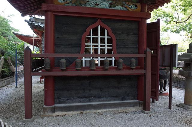 マニ車のある珍しいお寺 金乗院(山口観音) 所沢  Hidemi Shimura