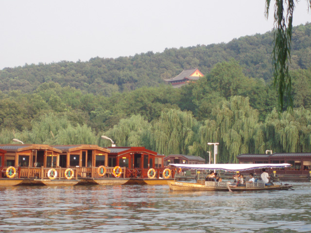 杭州-西湖南側 Hangzhou-South Side of West Lake 杭州 Hangzhou Hidemi Shimura