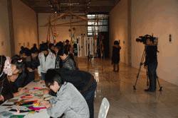 蘇州での展示はこんな感じでした Last exhibition in Suzhou was like this... アーティストインレジデンス Hidemi Shimura