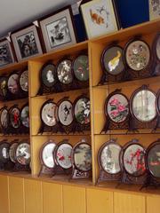 """シルク刺繍街""""綉品街""""  XiuPinJie Silk Embroidery Street 蘇州, アーティストインレジデンス Hidemi Shimura"""